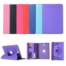 360 Degree Rotatable Leather Flip Case With Jelly Cover For Samsung Galaxy Tab S2 8.0 T710/T715  20090
