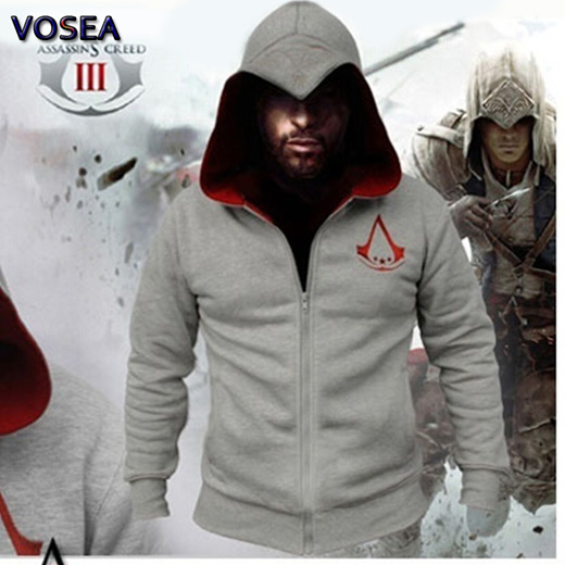 Qoo10 Assassins Creed Hoodie Sweatshirt Chadal Hombre Cosplay