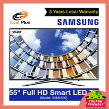 Samsung 55inch FHD SMART TV 55M5500 * 3 Years Local Warranty