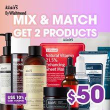 ☆$50★◀43% OFF[Mix and Match] Get two at $60!! Klairs By wishtrend