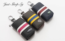Local Deal! Sport Leather Key Pouch / Car Key Holder / Car Accessories
