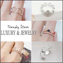 💍 Laurenco 💍RENEWAL Trendy Korean Ring - Luxury and unique Ring / Earrings