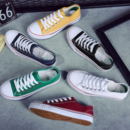 [SG LOCAL] ALL WHITE AND COLOR DESIGNS CANVAS SHOES/SNEAKERS [FREE SHIPPING]