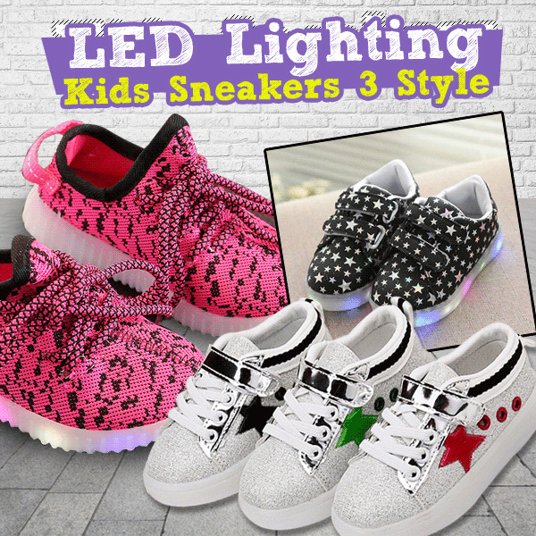 Hello Kitty Glowing Luminous Sneakers and Yeezy Shoes LED Boys And Girls Deals for only Rp135.000 instead of Rp135.000