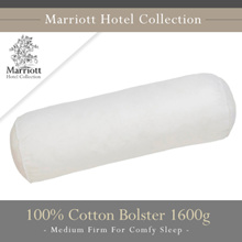 Marriott Hotel Collection 100% Cotton Bolster