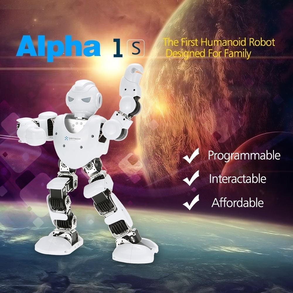 Qoo10 Alpha 1s Robot Toys Ubtech Humanoid Show All Item Images