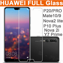 Huawei 3D Full Tmepered Glass case for Huawei P20 P20 Pro Mate 10 Pro P10 Mate9 Nova2 lite 2i Y7