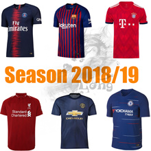 Jersey 18-19 Soccer Country Barcelona  Liverpool  Chelsea Bayern Paris Football Shirt Nation