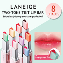 LANEIGE: NEW Two-Tone Tint Lip Bar/ Two-Tone Lip Bar/ Two Tone Shadow Bar
