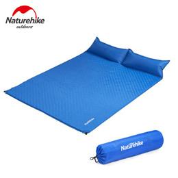 Naturehike Automatic Inflatable Sleeping Pad + Pillow NH19Q005-D / Mattress Pad / Sleeping Mat