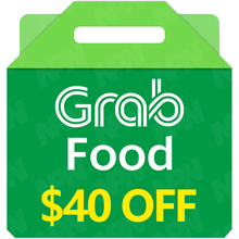 GrabFood $40 Promo Code 🍴 [Click Link In Email to Redeem*Fast  Instant*No need to enter Promo Code]