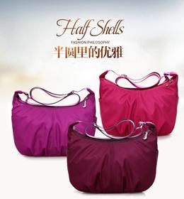 2018 New Waterproof Oxford Bag Simple Shoulder Bag Small Bag Multi-Layer Diagonal