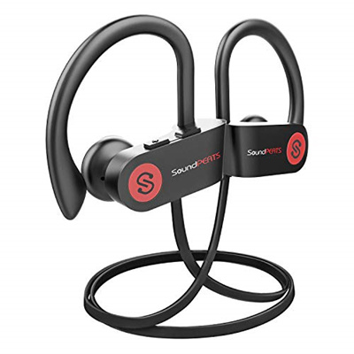 save up to 80% watch get new SoundPEATS SoundPEATS Bluetooth Headphones Sports Wireless Earbuds, IPX7  Waterproof Headphones with