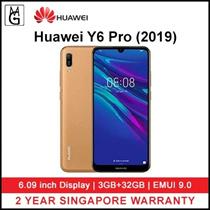Huawei Y6 Pro 2019 3/32GB 6.15 Display Dual SIM LTE smartphone Local Huawei 2 Years Warranty