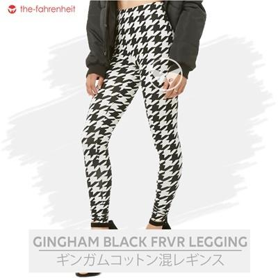 FRVR-Gingham Black