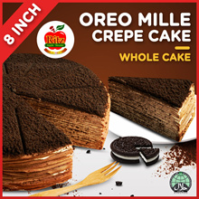 Oreo Mille Crepe Cake | 8 Inches | 1.5kg | Collection at 7 Locations