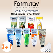1+1 Farm Stay Visible Difference Hand Cream 100g (11 types)