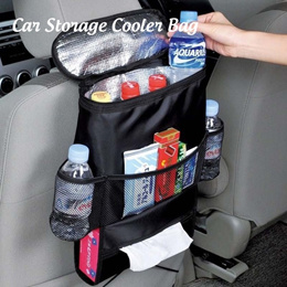 [SG Local Fast Delivery] Car Storage Cooler Bag ★ Keep Food Warm or Keep Cool Seat Organizer