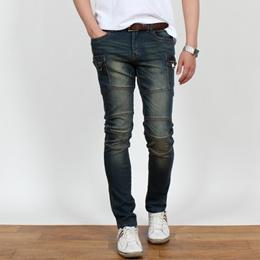 [HOTCODE] S~3XL / Mens /  jeans / big size / span / casual / denim / pants / cargo