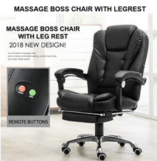 ★2018 BOSS PU Massage Chair Series ★PU/Ergonomic ★Performance ★Gaming Chair ★