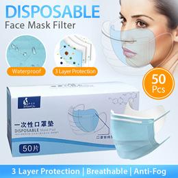 READY STOCK IN SG Disposable Mask Filter / Mask Fad / 50pcs / 100pcs / 1 color / Original Pad