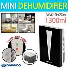 [Daewoo] Mini Dehumidifier / 1300ml / DWD-SH050A / Small but quiet and powerful moisture removal!