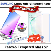 [SG]★FREE Screen Protector★ Samsung Galaxy Note 10 | Note 10+ | Note 9 Case Tempered Glass