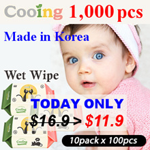 ★ Cooing Wet Wipes 10 Packs ★ wet tissue / baby wet wipes / [TODAY $11.9] 19th RESTOCK