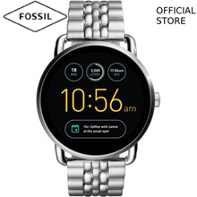 [FOSSIL OFFICIAL STORE] FOSSIL Q WANDER DIGITAL SILVER STAINLESS STEEL SMART WATCH FTW2111
