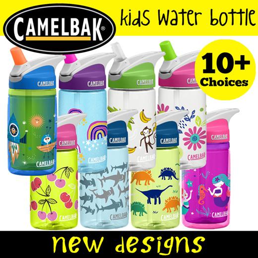 CamelBak Eddy Kids 400ml Bottle Rainbows