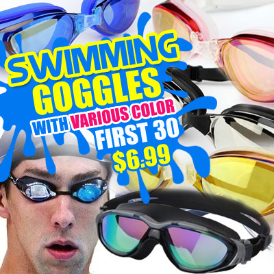 4bf05026a51f Anit-Fog Swimming Goggles in Various Colors  Swimming wear  Anit-Fog Goggles