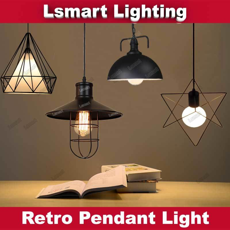 Qoo10 led pendant light ceiling dining light hanging light show all item images mozeypictures Images