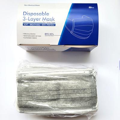 Adult Mask (Grey) - 50pcs