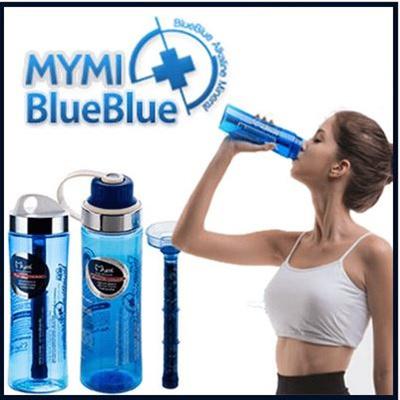 500ml Mymi BlueBlue Alkaline Mineral Water Bottle