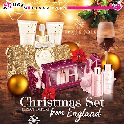 IQueen[GRACE COLE] ♥ The Luxury Bathing ♥ DIRECT IMPORT FROM UK ♥ Ready  Stock ♥ BEST XMAS GIFT SELECTION