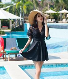 Cute Korean Style one Piece Women/Ladies/Swimwear/Swimming suit/Swimming Wear 18018