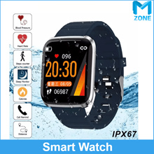 M Zone Smart Watch Heart Rate Monitor IP67 Blood Pressure/Oxygen Heart-rate Pedometer Sleep Monit