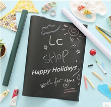 Creative Environmental writing childrens wall stickers removable adhesive blackboard stickers affixed whiteboard