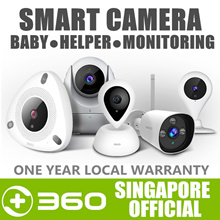 360 IP Camera CCTV Home Wifi Security Camera 1080P 150° 7M Night Vision Baby Monitor