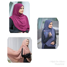 [SG SELLER ] **** Special Promotion **** Long and Wide Khimar (Variety) NOW $16.90 (U.P $20.90)