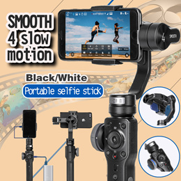 ZHIYUN Smooth Q gimbal smartphone 3 Axis gimbal steadicam steadicam for Gopro action camera iphone S