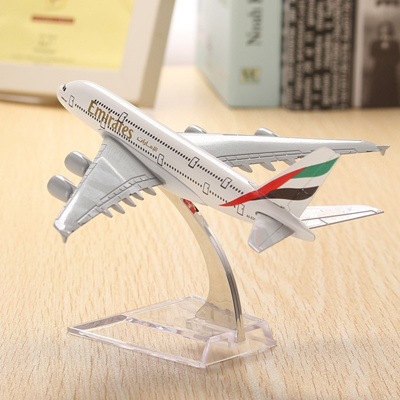 A380 Emirates Aircraft Model 16cm Airline Airplane Aeroplan Diecast Model  Collection Decor Toys