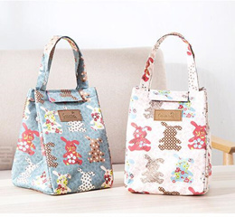746f5dc187b6 COUPON · 2017 Waterproof Lunch Bag Cooler Lunch Box Bag Tote canvas lunch  bag