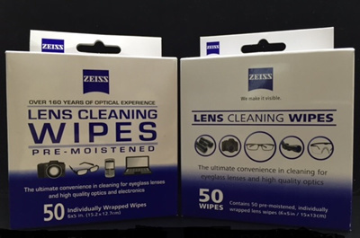 Carl ZeissZeiss Lens Cleaning Wipes Original Pre-Moistened Disposable Wipes  for Camera Lens Spectacle Lenses