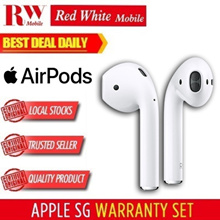 Apple Airpods (White) Local Apple Warranty
