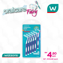 Watsons L Type Inter Brush 1.0mm X 6s