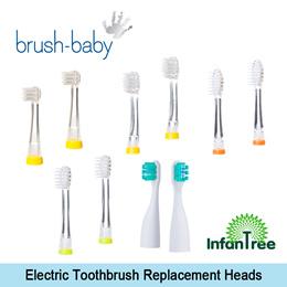 Brush Baby Baby Sonic  Kidzsonic  Go-Kidz Replacement Toothbrush Head (2pcs) 32abda80f685