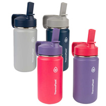 ★ Lowest price ★ USA Thermoplask Kids Stainless Tumbler Cool Water Bottle 14oz (414ml) 2 pieces / Ch