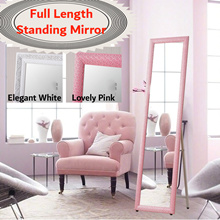 【Ready Stock】Full Length Mirror/Full-Body Size Mirror/Standing mirror