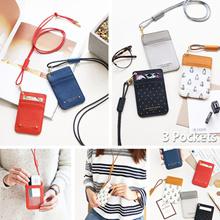 [SWEET MANGO] ICONIC Swing Neck Card Pocket + Neck Strap - lanyard card holder case card wallet